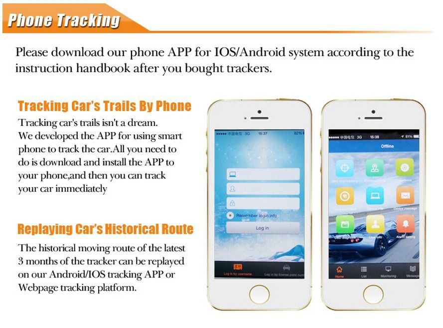YB06S stable gps tracker